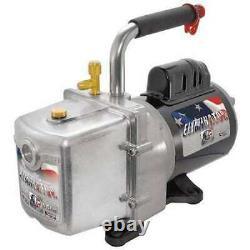 JB INDUSTRIES DV-6E Eliminator Refrig Evacuation Pump, 6.0 cfm, 6 ft