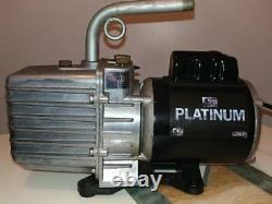 JB Industries DV-285N Platinum 10 CFM Vacuum Pump USED WORK GOOD CONDITION