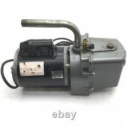 JB Industries DV-4E Eliminator 2-Stage Vacuum Pump 4-CFM 25 Micron 1/2HP 120VAC