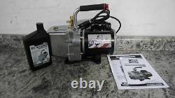 JB Industries DV-6E 1/2 HP 115VAC 6 CFM Displacement Refrigerant Evacuation Pump