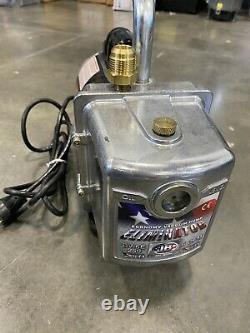 JB Industries DV-6E Eliminator 6 CFM Refrigeration A/C Vacuum Pump 220v