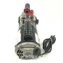 JB Industries Marathon Electric Platinum DV-142N 5 CFM Vacuum Pump 2 Stage. 5 HP