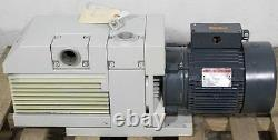 Leybold TRIVAC D65BCS Rotary Vane Vacuum Pump Cat 91398-2 D65B 45.9 cfm