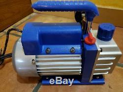 MUST-HAVE HVAC 3CFM 1/4HP Air Vacuum Pump