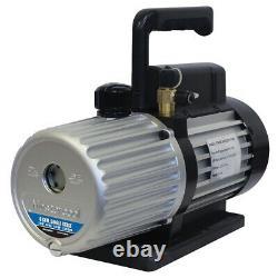 MasterCool 90066-B 6 CFM Deep Single Stage Vacuum Pump MSC90066-B