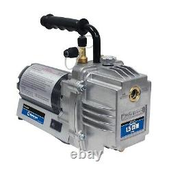 Mastercool 90060 A/C vacuum pump 1.5 CFM 1/6 HP 3450 RPM Two Stage Made in USA