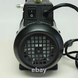 Mastercool 90066-B-SF Spark Free 6 CFM Single Stage Vacuum Pump 80 Microns 1/3HP