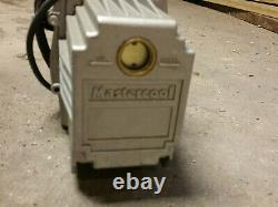 Mastercool 90067 Vacuum Pump 7.5 CFM Two Stage emerson c55jxjft-4448 service 1/2