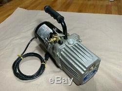 Mastercool 90070 Vacuum Pump, 10 CFM, 3 Stage, 115V, Heavy Duty, Works Great