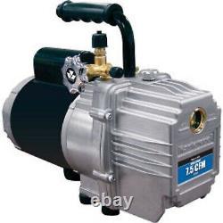 Mastercools Vacuum Pump (110V/60 Cycle) 7.5 CFM Two Stage-Elite