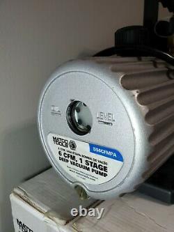 Matco Tools Deep Vacuum Pump SS6CGMPA 6 CFM 1 stage