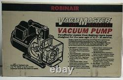NEW OLD STOCK 399 Robinair 15600 High Performance 6 CFM Vacuum Pump