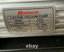 NEW Robinair (15310) VacuMaster Single Stage Vacuum Pump Single-Stage, 3 CFM