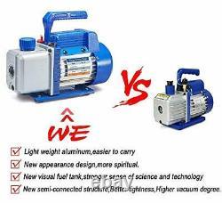 NewPosition 4CFM 1/3HP Air Vacuum Pump HVAC A/C Refrigeration Tool Kit ACAuto