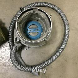 Nilfisk GM80 Canister Vacuum, 3.25 Gallon, 30' Cord, 87 CFM, 110-120V, 1100W