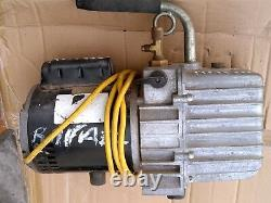 Platinum Refrig Evacuation Pump, 3.0 cfm, 6 ft. JB INDUSTRIES DV-85N
