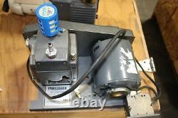 Precision Vacuum Pump Model Pv35 15 Micron 1.23 Cfm