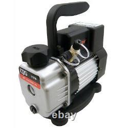 Premium Compact 2 CFM 1 Stage Vacuum Pump CPSVPC2SU Brand New