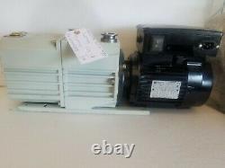 REBUILT Pfeiffer DUO 10 Vacuum Pump- 7 CFM/ 110-240Volt