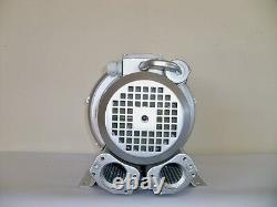 REGENERATIVE BLOWER 0.67HP 57CFM 56H2O press, 220V/1PH, Side Channel Blower