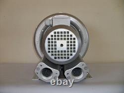 REGENERATIVE BLOWER 1.1HP 103CFM 52H2O press, 220/480V/3Ph Side Channel Blower