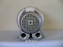 REGENERATIVE BLOWER 1.27HP 103CFM 56H2O press 220V/1PH Side Channel Blower