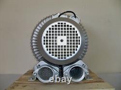 REGENERATIVE BLOWER 2.3HP 183CFM 76H2O press, 220V/1PH, Side Channel Blower