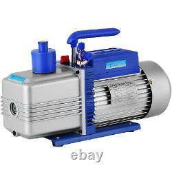 Refrigerant Vacuum Pump 12CFM 1HP Deep HVAC Dual Stage AC Conditioning