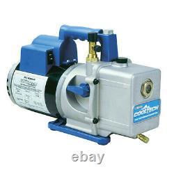 Robinair 15400 High Performance 4 CFM Vacuum Pump, 1/2 hp, 15 oz, 115V