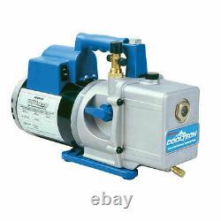 Robinair 15400 High Performance 4 CFM Vacuum Pump, 1/3 hp, 13 oz, 115V