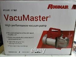 Robinair 15500 VacuMaster 5 CFM Economy Vacuum Pump BOXES ARE DISTRESSED