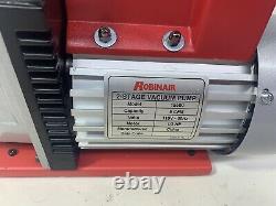 Robinair (15500) VacuMaster Economy Vacuum Pump 2-Stage, 5 CFM, Red