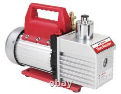 Robinair 15800 VacuMaster Economy Vacuum Pump 2-Stage, 8 CFM, CHROME