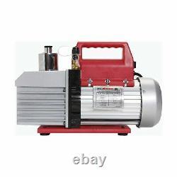 Robinair 15800 VacuMaster Economy Vacuum Pump 2 Stage 8 CFM Chrome Aluminum New