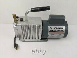 Robinair High Vacuum Pump Model 15101-B, 115V, 5 CFM Capacity