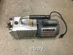Robinair High Vacuum Pump Model# 15102B HVAC, 3 CFM- For Parts Only