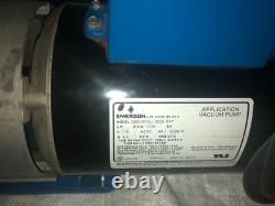 Robinair Spx Cooltech 15600 0.5hp 6 Cfm High Performance Vacuum Pump