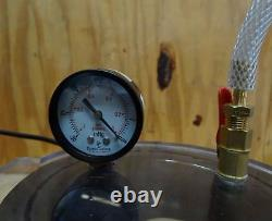 Star 1 Stage Vacuum Pump # Rs-1 3cfm 110v 1/4 HP & Bienzumbado Bees Wax Chamber
