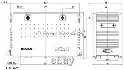 ULVAC DTC-41 1.6 cfm Chemical-Resist Diaphragm Vacuum Pump Rotary Evaporator TUV