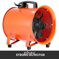 Utility Blower 12 Inch 0.7HP 2295 CFM 3300 RPM Portable Fan Ventilator 0.7HP