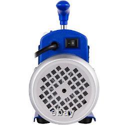 VEVOR AC Vacuum Pump Manifold Gauge Set 3.6 CFM 5PA HVAC Vacuum Pump With Box