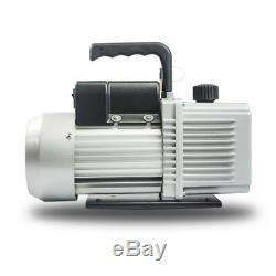 Vacumm Pump 1/2HP 115V 2 stages 5-6 CFM / Bomba de Vacio para AC