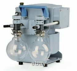 Vacuubrand Diaphragm Pumps with Solvent Recovery (MZ 2C NT +2AK) 7 mbar, 1.4 cfm