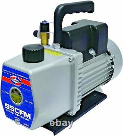 Vacuum Pump U5VP2 5.5 CFM 2 Stage Dual Voltage MADE IN USA