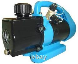 Vacuum pump Javac CC-21 1CFM for air conditioning twin stage new professional
