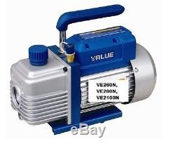 Value High End 2 Stage Refrigerant Air Vacum Vacuum Pump 170-340 Litres/minute