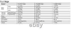 Value R32 Combustible Refrigerant Ac Vac Vacuum Pump 3.3 / 5 / 7 Cfm With Gauge