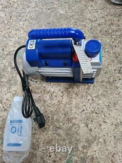 Vevor 2.5CFM 1 Stage Refrigerant Vacuum Pump Air 1/4HP 220ML + oil included