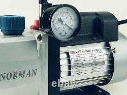 WeberDisplays Norman Single Stage 1 Stage 4 CFM 1/3 HP Rotary Vane Vacuum P