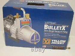 Yellow Jacket 93600 BULLET-X 585-596 7 CFM Vacuum Pump-2-STAGE, NISB F/SHIP 2020